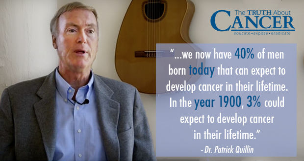 Quote from Nutrition and Cancer expert Dr. Patrick Quillin