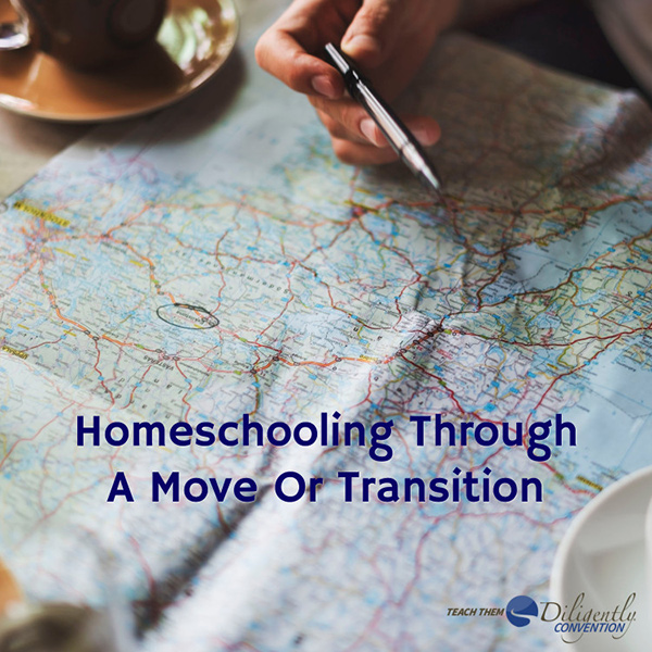Homeschooling Through A Move Or Transition– And Exciting News For Military Families!