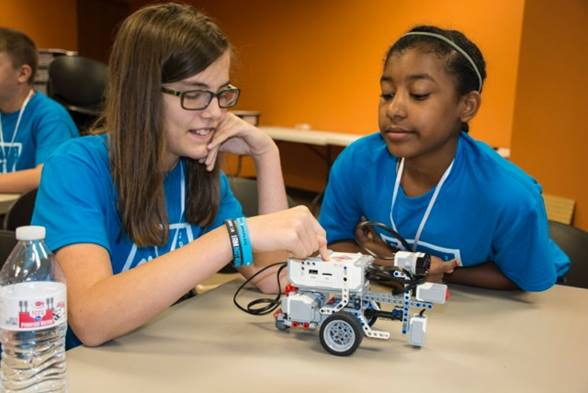 Robotics Program Girls