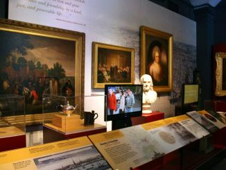 The Philadelphia History Museum revamped its interior appearance with more than three years of renovations, costing $5.8 million. The museum reopened to the public on Sept. 22. It houses pieces dating as far back as 1680. ( LARA STRAYER // TTN )