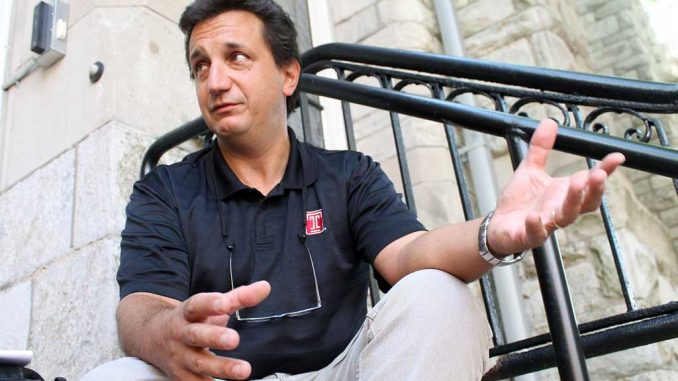 Joseph Labolito, university photographer, discusses how he started his 30-plus year career at Temple and his involvement with the Temple Made campaign. ( INDIRA JIMENEZ / TTN )