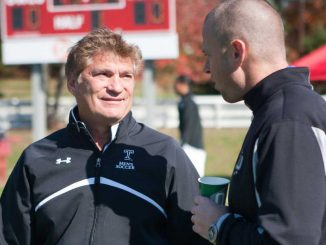 Coach Dave MacWilliams said he believes the A-10 Conference is underrated when it comes to men's soccer. He said Temple is ready for its Big East move. | PAUL KLEIN / TTN