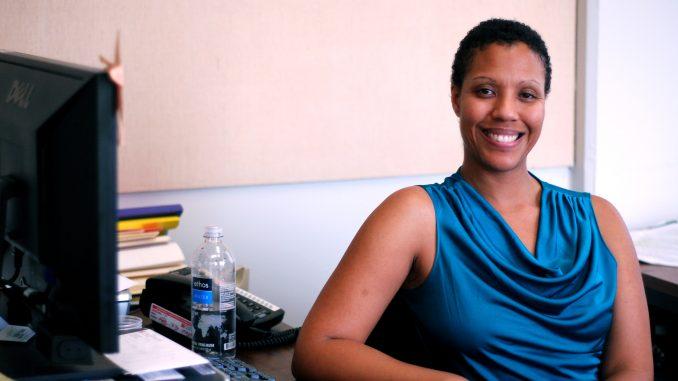 Siobhan King-Brooks is a professor of women's studies, LGBT studies adviser and author. ( NICKEE PLAKSEN // TTN )