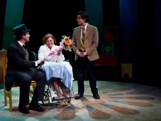 "Boo, Bette and Matt – portrayed by Ethan Botwick – in one of the final scenes of ""The Marriage of Bette and Boo."" 