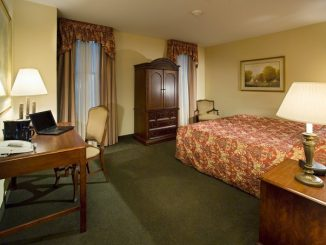 The Conwell Inn contains 22 rooms, and at maximum occupancy can hold approximately 70 guests. The inn is currently upgrading room decor. | COURTESY CONWELL INN