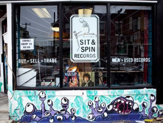 The DIY Philly label Sit & Spin recently opened a shop on Ninth and Reed streets in South Philly. | KATE McCANN TTN