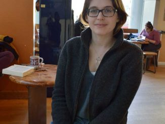 Emma Fried-Cassorla was a neuroscientist before she founded a blog, Philly Love Notes. The blog takes submissions from Philadelphians about their favorite spots in the city. | CHELSEA FINN / TTN