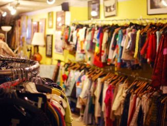 Philly AIDS Thrift on 710 South Fifth Street selects the highest quality clothing to be resold. A majority of the store's staff are volunteers, an often-overlooked aspect.   ANDREW THAYER / TTN