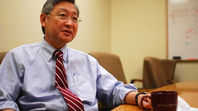 New Provost Hai-Lung Dai spoke to The Temple News Feb. 8. | ANDREW THAYER / TTN