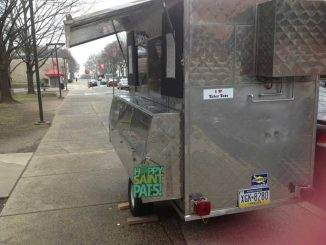 Despite unfavorable weather The Tot Truck opened on March 16. The truck plans to open again for a larger opening in coming weeks.   ELIZA YOUNG / TTN