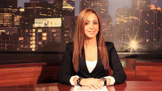 Janelle Roedán anchors Update Ahora, the first Spanish-language broadcast on TUTV.   SABA AREGAI / TTN