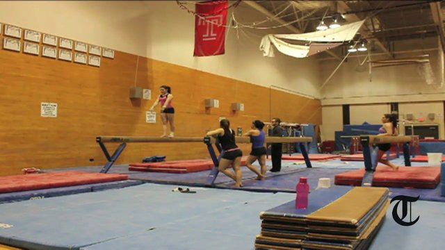 The men's gymnastics team has circulated an online petition that has more than 12,700 signatures. // TTN FILE PHOTO