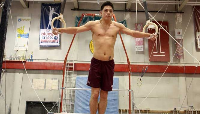 The men's gymnastics team has circulated an online petition that has more than 12,700 signatures   KELSEY DUBINSKY / TTN