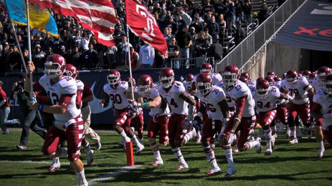Most of Temple's sports move to the American Athletic Conference next season.   TIMOTHY VALSHTEIN TTN FILE PHOTO