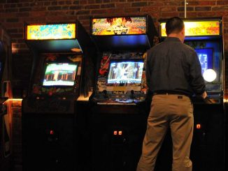 Located at 1114 Frankford Ave., Barcade blends the worlds of draft beer and arcade games without a cover charge. The bar is available to host special events and parties. | IAN WATSON / TTN