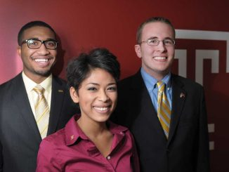 From left: Cree Moore, Sonia Galiber and Darin Bartholomew. | ABI REIMOLD / TTN