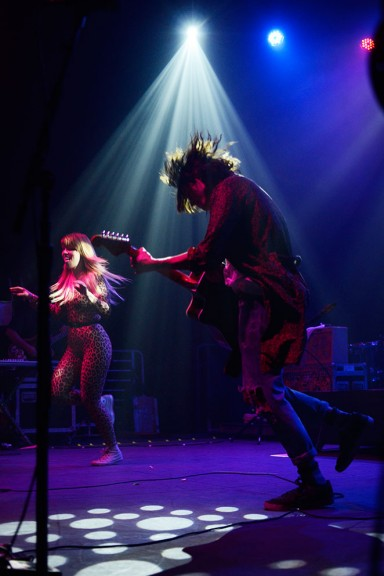 Grouplove plays at Union Tranfer on Sept. 28. Australian band The Rubens set the bar high with a vibrant set, despite its smaller following in the U.S. | Andrew Thayer TTN