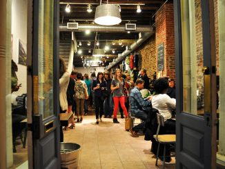 United by Blue celebrates its grand opening on Sept. 25 selling both coffee and clothes.   Emily Vishnevetsky TTN