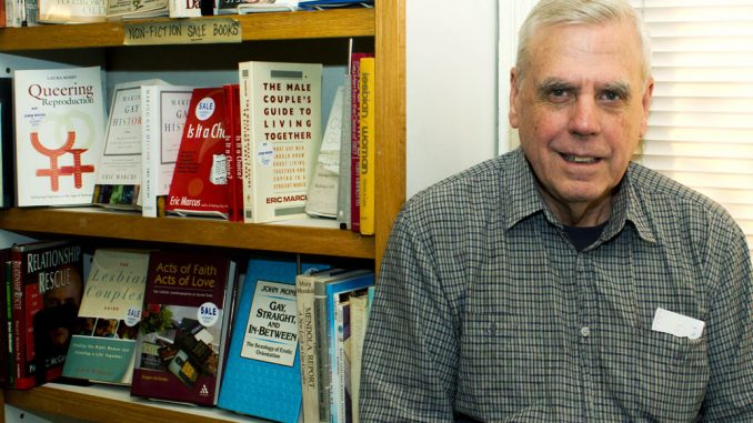 Ed Hermance, owner of Giovanni's Room, plans to find new ownership.   Luis Fernando Rodriguez TTN