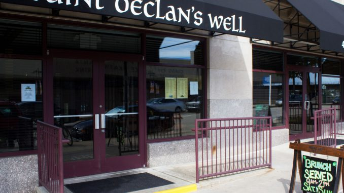 Saint Declan's Well, located at 31st and Walnut streets, opened its doors in the beginning of the month and offers authentic Irish food and drinks. | Luis Fernando Rodriguez TTN