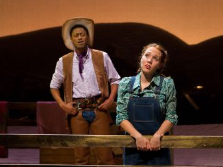 Garrick Morgan (left) played the role of Curly in Boyer College's 'Oklahoma!' | Luis Fernando Rodriguez TTN