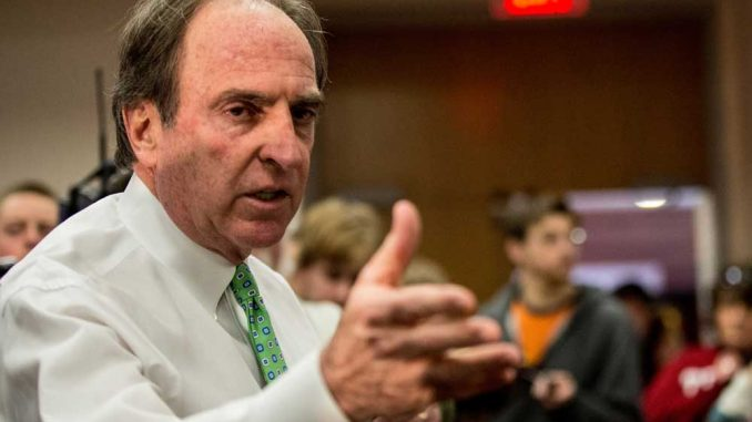 Coach Fran Dunphy and his staff have only gotten one committment for the 2014 class.   TTN FILE PHOTO