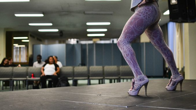 "Drag kings and queens rehearsed for the show yesterday, Oct. 7, during the weekend prior. One drag queen, Jay Oatis, practiced his routine ""Walking on Air"" as the character he played for the final show, Sarafina. 
