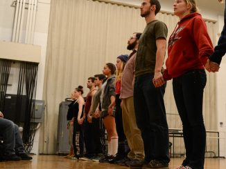 """Theater students revived """"Shoes,"""" created by Steff Kryor, a theater major who graduated in 2010. All proceeds go to the department. 