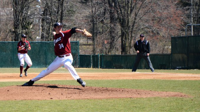 Eric Peterson pitches during a game held in 2013. Peterson was named to the All-Philadelphia Big 5 team last spring after posting a 3.03 ERA, the lowest by a Temple pitches since 1999. | Andrew Thayer TTN