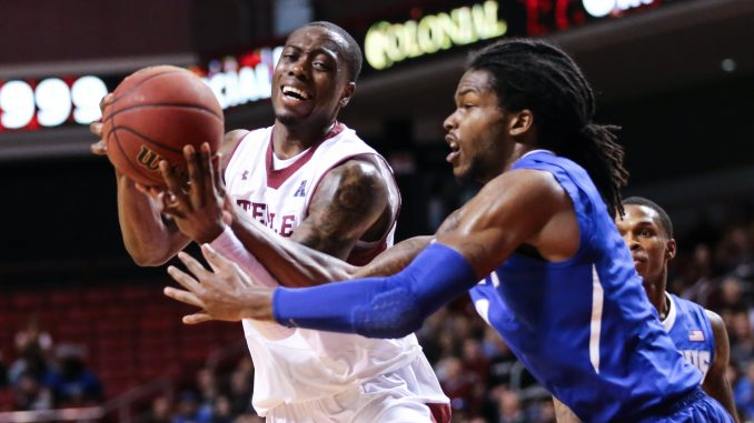 Quenton DeCosey scored 18 points and played all 40 minutes against Memphis. // HUA ZONG // TTN