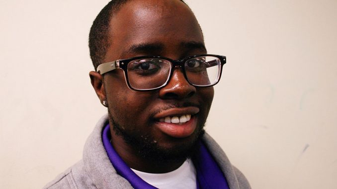 """Mathos Sokolo is a brother of Alpha Phi Alpha. The organization is part of the """"Divine Nine,"""" a group of historically black Greek organizations. 