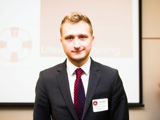 Michael Kovich started his own company, the Kovich Network, as an advertising endeavor. He is also involved in a number of activist groups on campus. | Eric Dao TTN