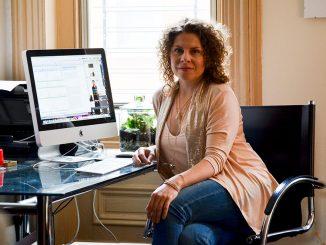 Designer Sarah Van Aken went from waiting tables after graduation to opening, SA VA, her own women's clothing line. | Sergei Blair TTN