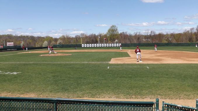 The baseball team has played at Skip Wilson Field in Ambler, Pa., since the facility first made its debut in 2004. The field seats 1,000 people and lacks lights. | Stephen Godwin JR. TTN