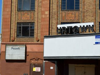 Mother and daughter duo Linda and Aissia Richardson seek to revamp the historic Uptown Theater on Broad Street.| Sash Schaeffer TTN