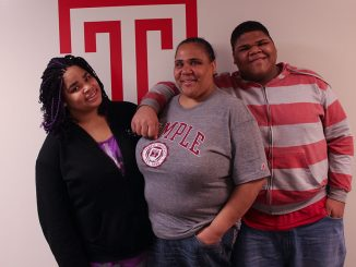 (From left) Keisha Diggs, her mother Terrie Hawkins and her brother Kevin Diggs spend significant time working at the AIDS Fund, where they aim to spread awareness of HIV and AIDS and lessen stigma surrounding the disease. | Erin edinger-turoff TTN