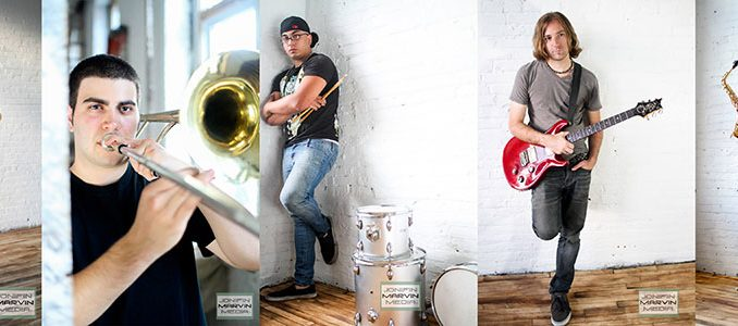 """The Philly Reggae Band doesn't have formal members, but instead rotates based upon interest, something founder Jonifin Marvin Benjamin said he does to keep """"structure so it feels safe.""""   COURTESY PHILLY REGGAE BAND"""