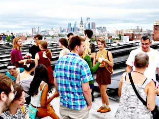 The Solar Party took place on top of the Crane Arts Building in Olde Kensington on August 21. Jared Whalen   TTN