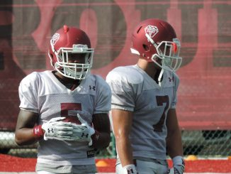 Jalen Fizpatrick (left) and John Christopher (right) participate in practice Tuesday. | Nick Tricome TTN