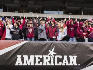 Temple football fans cheer on the Owls during their second conference game, a 35-24 win against Tulsa. | Donald Otto TTN