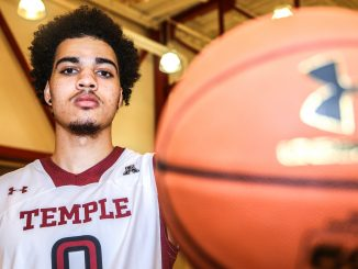 Freshman forward Obi Enechionyia, a four-star prospect in 2014, enters the season as Temple's lone recruit. Andrew Thayer | TTN