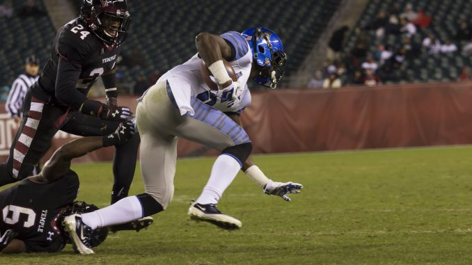 Memphis edged the Owls in an American Athletic Conference matchup of five-win teams on Friday night.   Donald Otto TTN