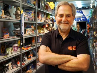 Steve Sansweet is the president and CEO of Rancho Obi-Wan – the largest collection of Star Wars memorabilia in the world.   COURTESY STEVE SANSWEET