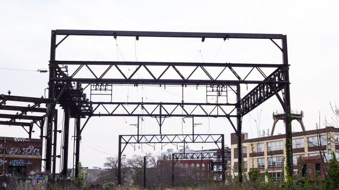 The Reading Viaduct sits in the Callowhill neighborhood. SEPTA will develop an elevated park there. | Kara Milstein TTN