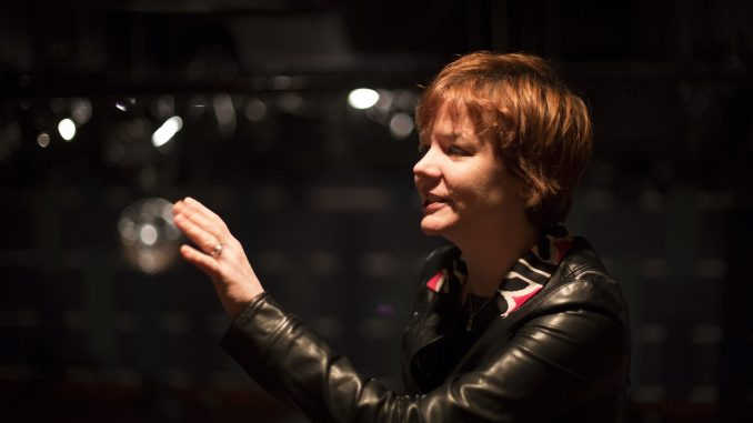 Mary Javian, curator of the ClassicAlive shows at World Café Live, discusses plans for the upcoming electro-classical show that will be hosted on March 20. | Margo Reed TTN