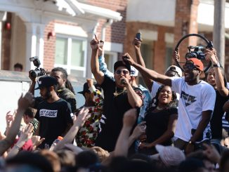 After Spring Fling was canceled prior to the 2013-14 school year, a block party (right) was held on the 2300 block Park Avenue while the school hosted Cherry-On Experience Day (left) on Main Campus. | Andrew Thayer TTN File Photo