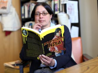 English professor Priya Joshi wrote Bollywood's India: A Public Fantasy to explore the world's obsession with Bollywood. | Jenny Kerrigan TTN