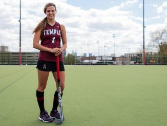 Four-year starting forward Amber Youtz finished her career as an All-American and tallied 69 career goals, 27 assists in her 80 career games. | Donald Otto TTN