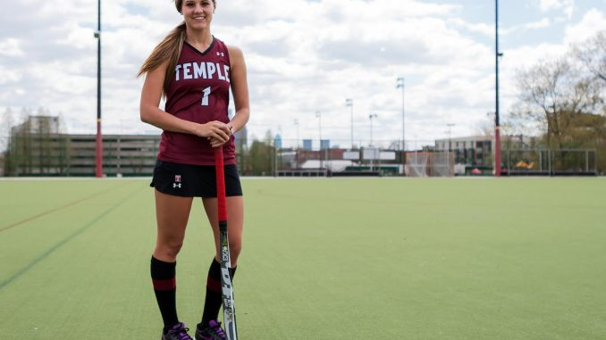 Four-year starting forward Amber Youtz finished her career as an All-American and tallied 69 career goals, 27 assists in her 80 career games.   Donald Otto TTN