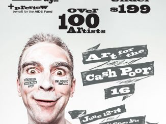 2016's Art for the Cash Poor poster, provided by InLiquid.